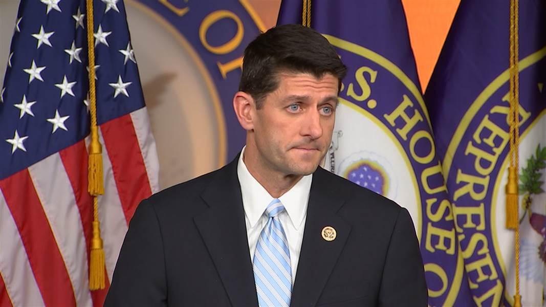 BREAKING: Source says House Speaker Paul Ryan won't seek re-election