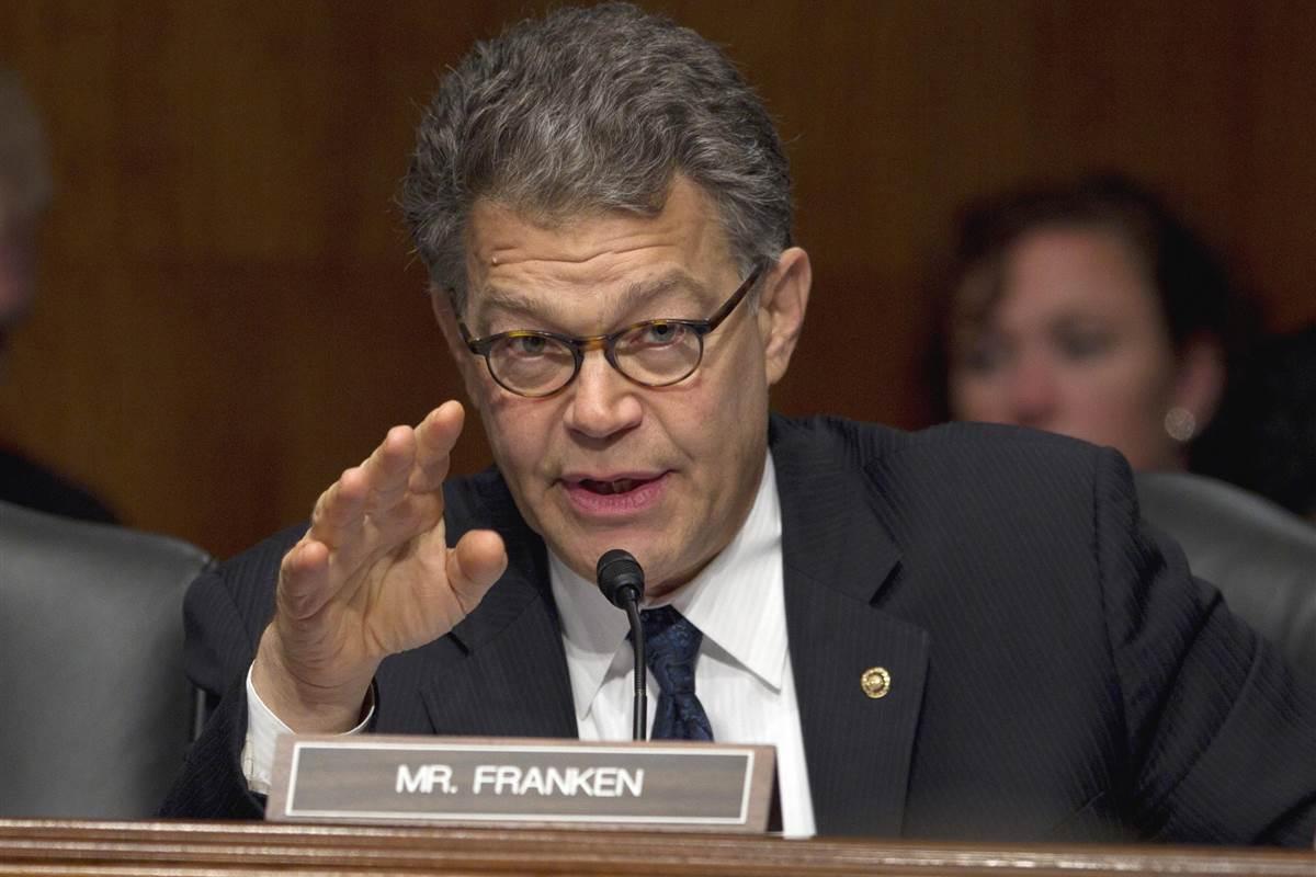 Sen. Al Franken says he'll return to work Monday