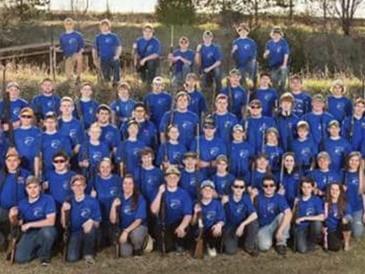 KARE: Big Lake High School trapshooting coach Rhonda Eckerdt says she learned Wednesday from the school's athletic director that the team picture won't be included in the yearbook because it's against school policy to show firearms in photos.