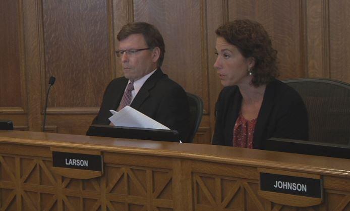 Mayor Larson presents budget