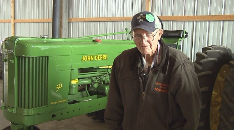 Jim Newman attends Carlton County Fair for 70 years