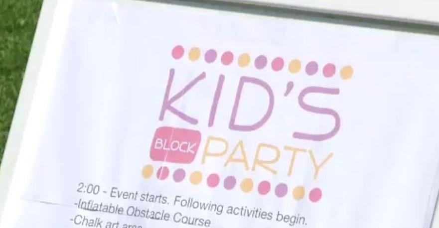 Kid's Block Party