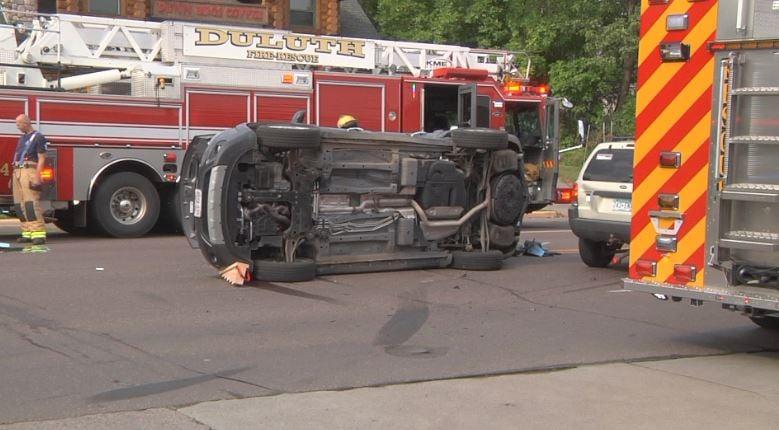 Car Crash on London Rd