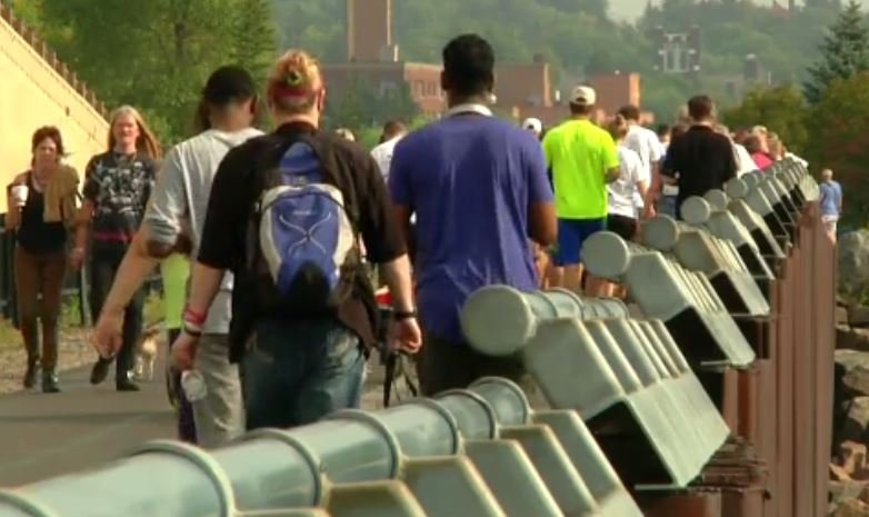 The event aimed to spark conversation about brain injury awareness.