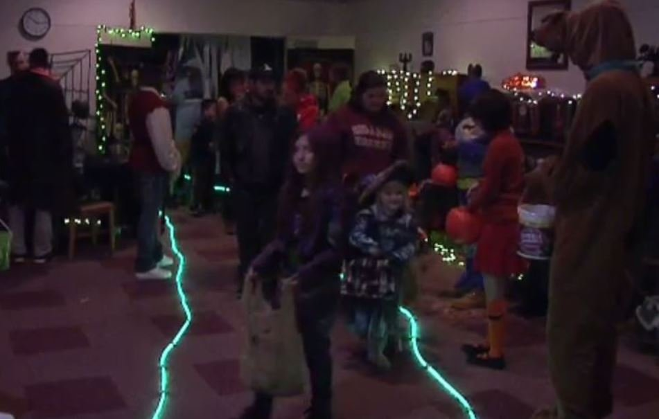 To get into the Halloween spirit, on Saturday kids were invited to go trick-or-treating at the Superior Public Library.
