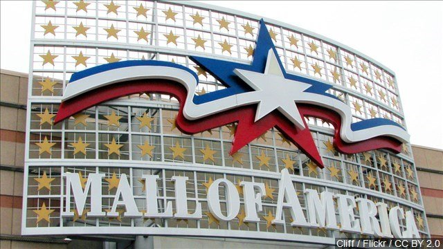 One person is in custody after a stabbing at the Macy's store at the Mall of America Sunday night, authorities say.