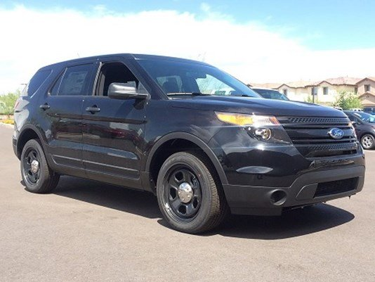 """© Richfield Police: """"Here is a picture of what the imposter's vehicle MAY look like"""""""