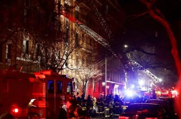 New York City fire kills 12, sends residents scrambling
