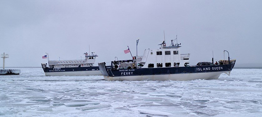 Credit: Madeline Island Ferry Line Facebook Page