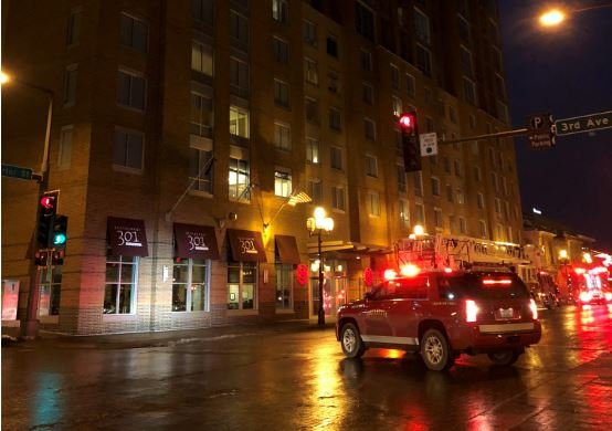 Emergency crews respond to Duluth Sheraton, blocking off portion of Superior St.