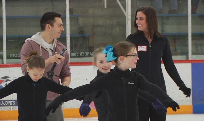 Going for Gold: KBJR 6 Today anchors lace up their skates with the Duluth Figure Skating Club