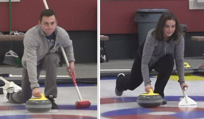 Going for Gold: KBJR 6 Today anchors try curling