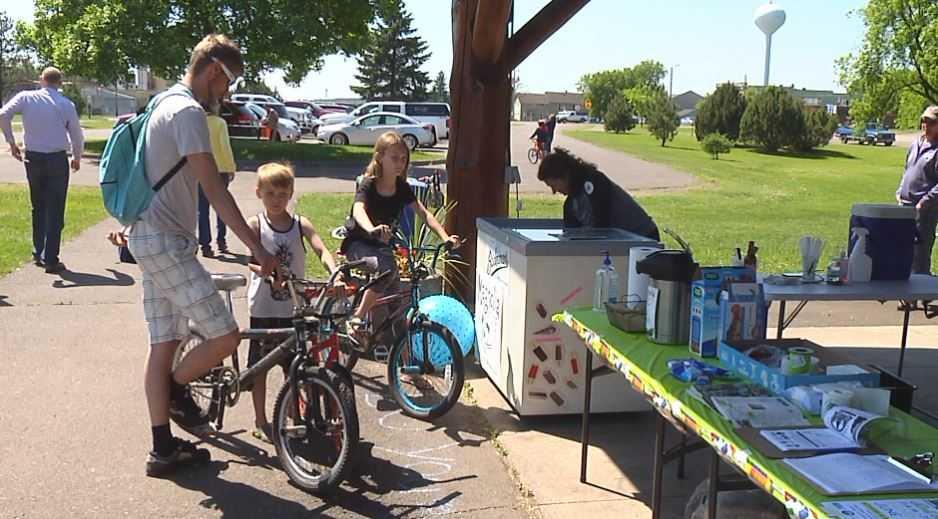Community biking event helps people get outdoors
