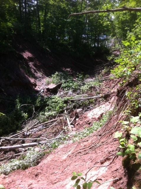 Recent flood damage shuts down ATV and Hiking trails