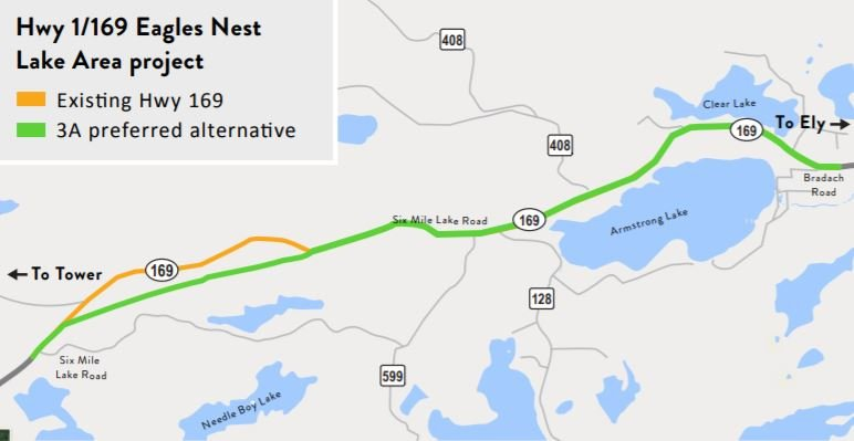 Eagles Nest Lake Area reconstruction project ribbon-cutting event set for Thursday