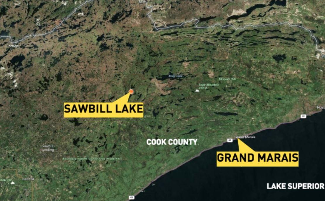 Man dies after canoe capsizes on BWCA lake