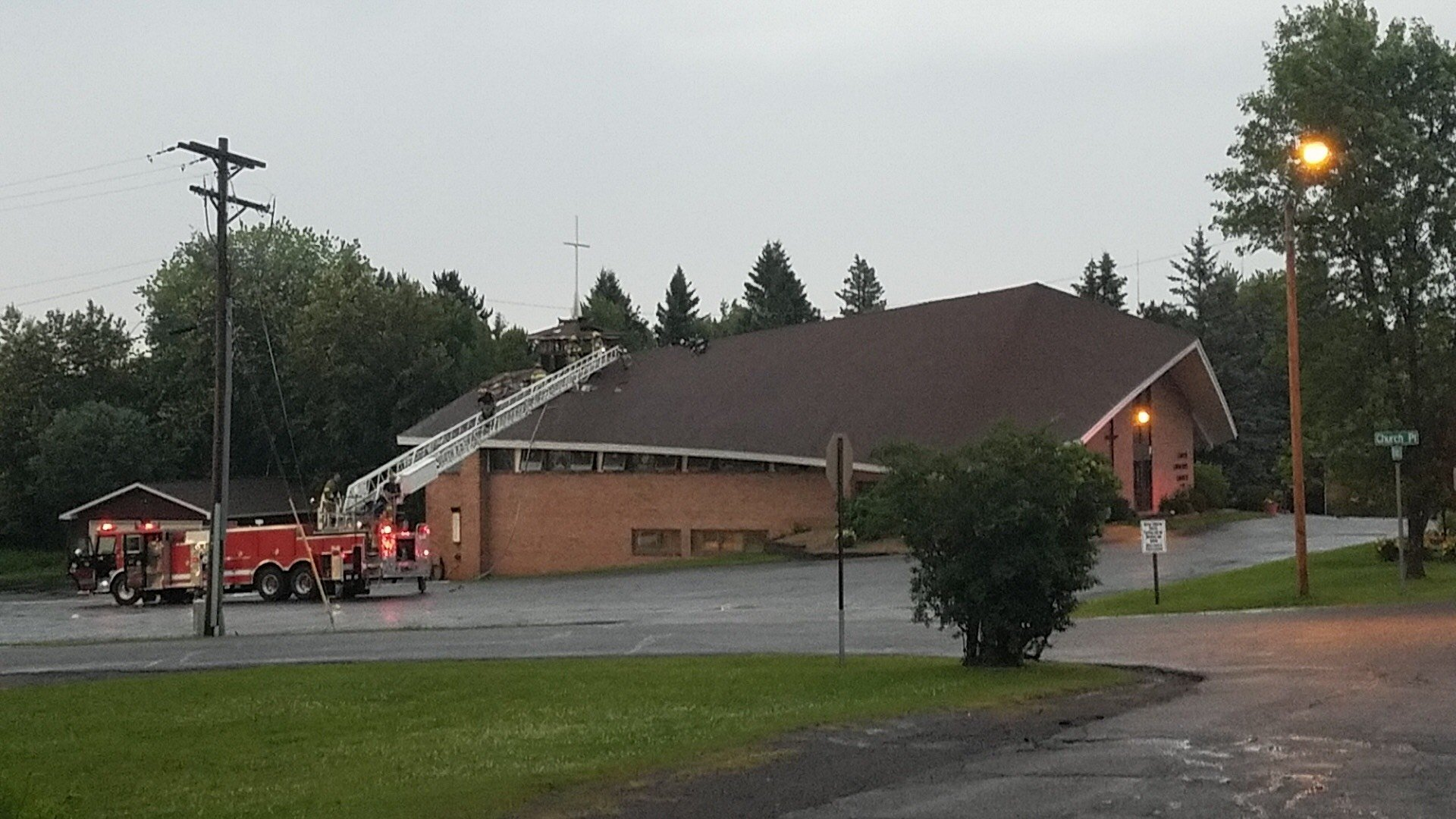 Duluth Fire: lightning likely culprit in church fire