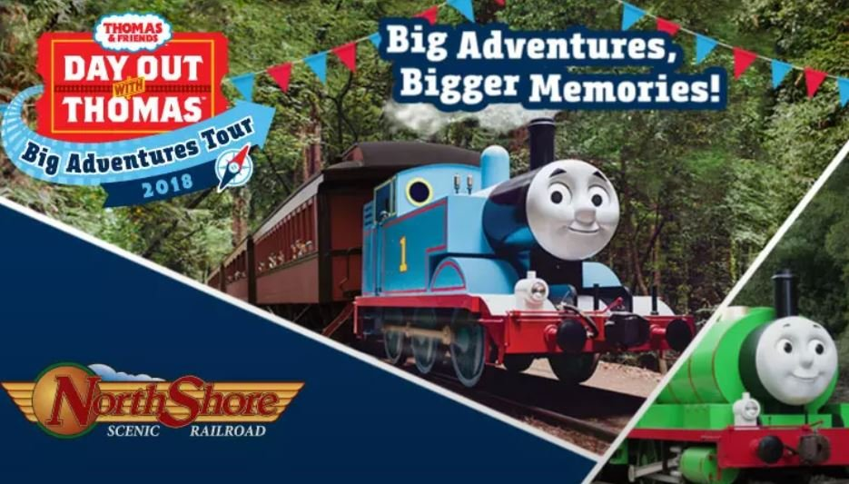 Thomas the Tank Engine rolls into Duluth for Northshore train rides