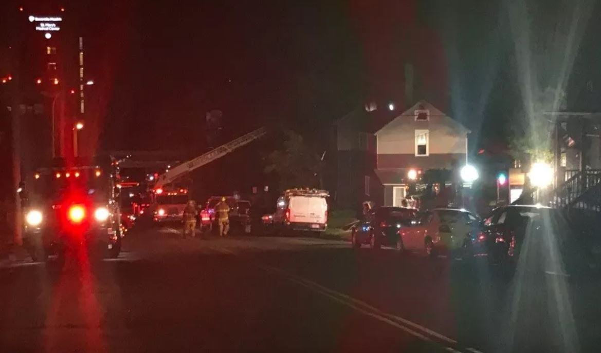 Fire 'heavily' damages Duluth home overnight