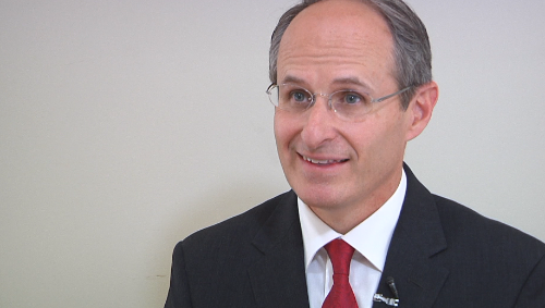 Candidate for Attorney General, Mike Rothman visits Duluth