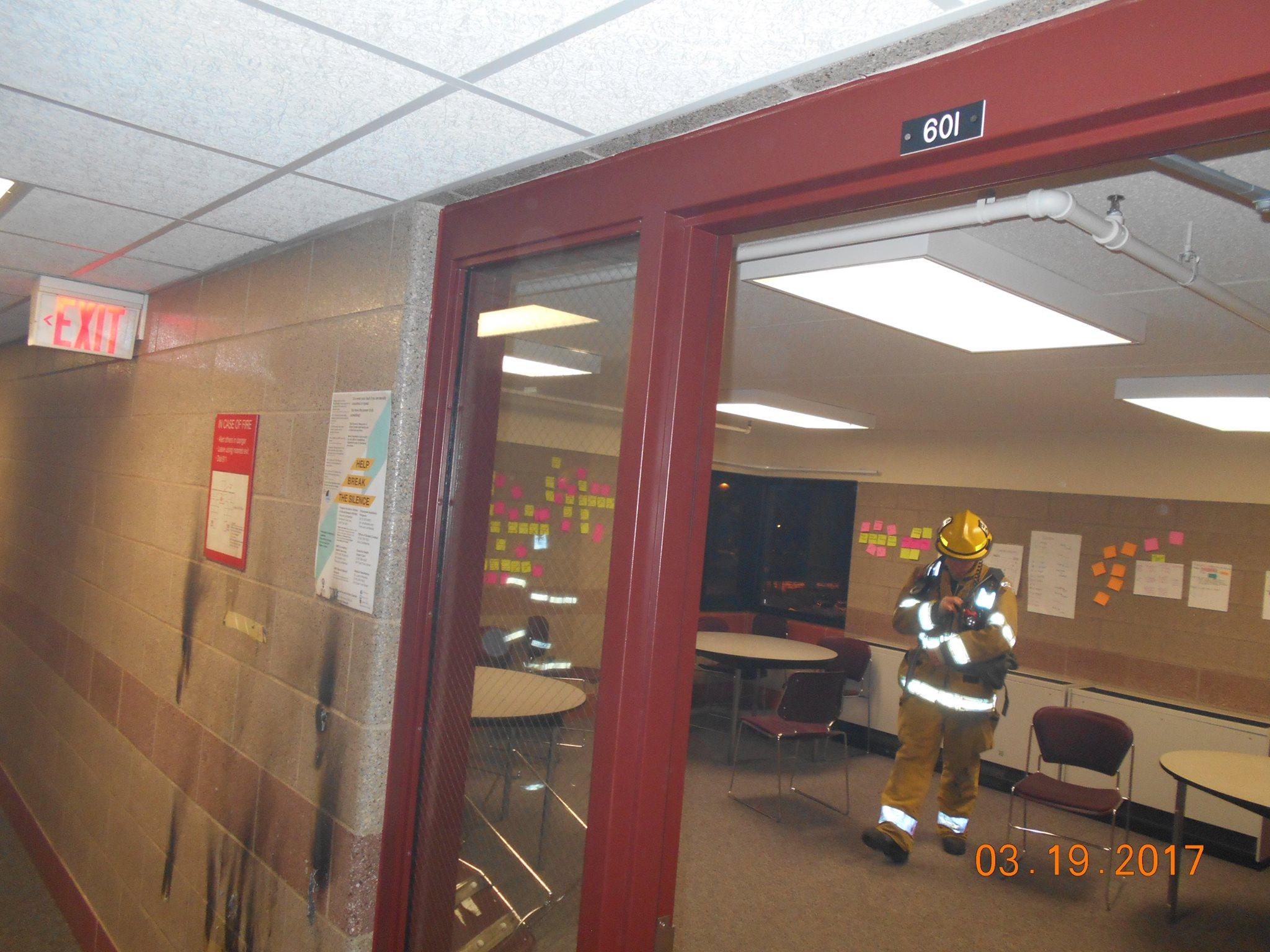 Police Fire Department Investigating Arson At Umd Kbjr 6 Your